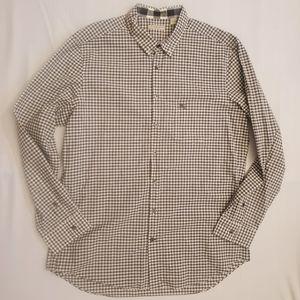 Burberry Brit cadual checkered long sleeve, sz L